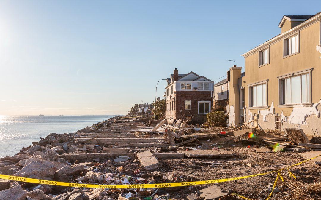Hurricane Sandy Rolls Through